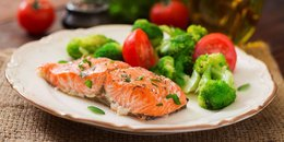 Grilled Salmon with Dijon Mustard Sauce