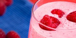 Raspberry Avocado Smoothie