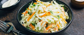 Pressed Napa Cabbage, Carrot & Black Sesame Salad