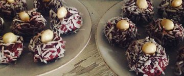 Red Velvet Bliss Balls