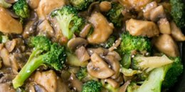 Chicken Broccoli & Mushroom Stir Fry