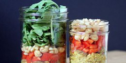 Curry Quinoa Salad in a Jar