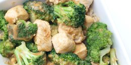 Chicken and Broccoli with Peanut Sauce