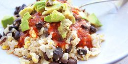 Black Bean Scramble