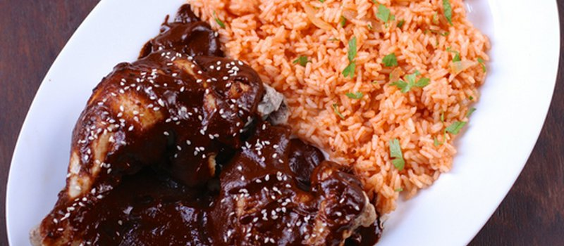 Chicken in Mexican Mole Sauce