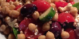 Fresh Chickpea Salad
