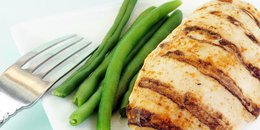Grilled Chicken and Green Beans