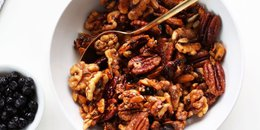 Simple Grain Free Granola with Maple Syrup
