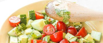 Simply Tomato & Cucumber Salad