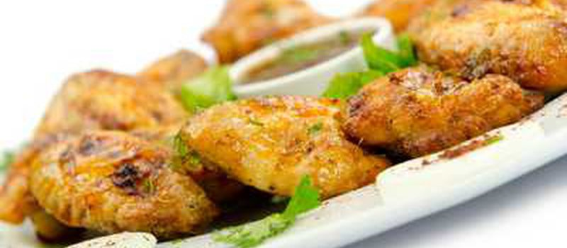 Chicken Wings in Soy and Oyster Sauce