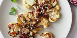 Roasted Cauliflower with Radicchio Salsa