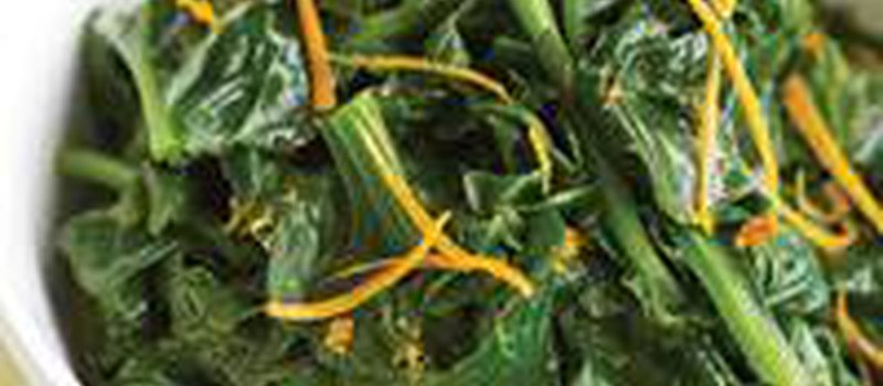 Spinach with Orange