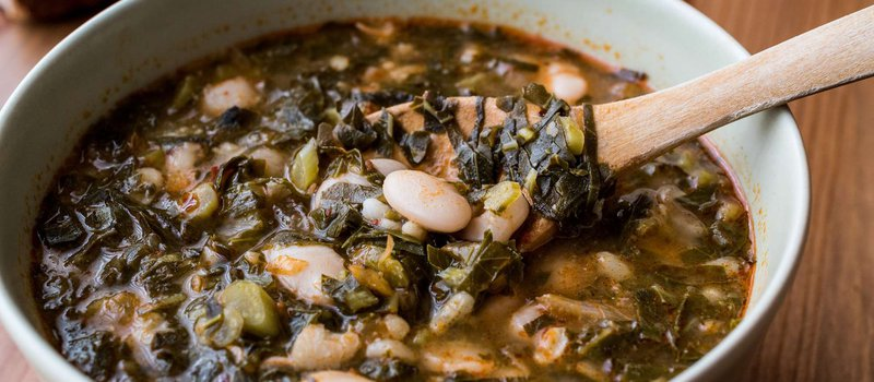 Black Kale and White Bean Soup