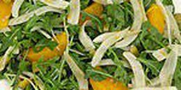 Fennel and Arugula Salad with Oranges and Olives