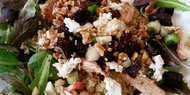 Chicken, Beet & Quinoa Salad with Goat Cheese