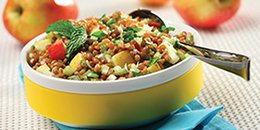 Wheat Berry & Apple Salad