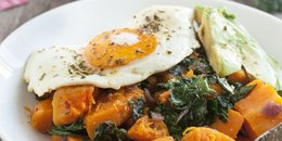 Kale and Butternut Squash Breakfast Bowl
