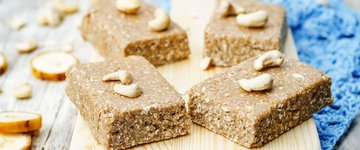 Banana Oat Bars with Nuts