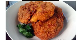 Spicy Vegan Fried Chicken