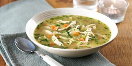 "Chicken ""Noodle"" Soup"