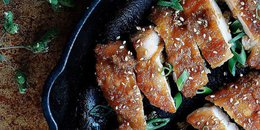 Paleo Crispy Teriyaki Chicken