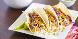EASY Fish Tacos with Cilantro Slaw