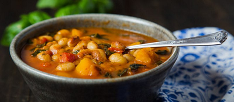 Butternut Squash White Bean Kale Stew