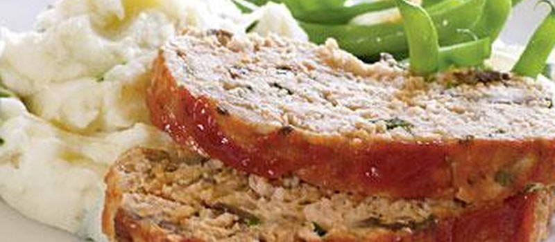 Spicy Turkey Meatloaf With Ketchup Topping Mealgarden