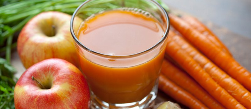 Apple, Carrot and Ginger Smoothie