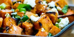 Roasted Sweet Potato Salad with Feta
