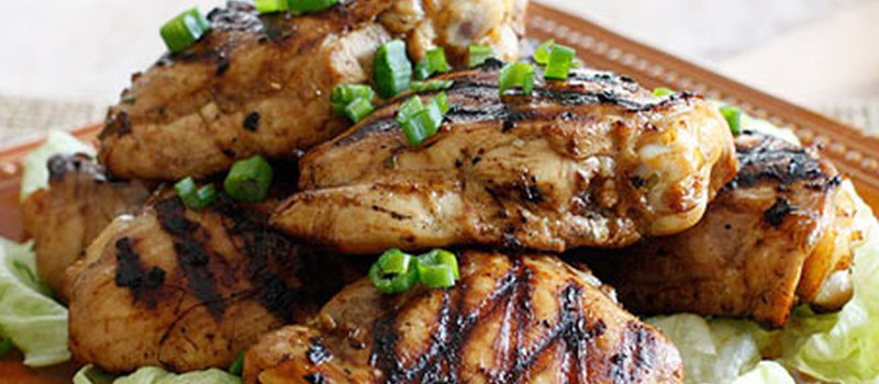 Asian Marinated Grilled Chicken
