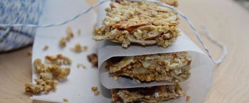 Cranberry, Oat and Seed {No Bake} Granola Bars