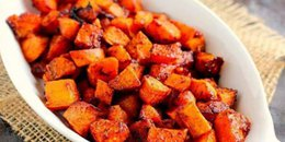 Roasted Spicy Smoked Sweet Potatoes