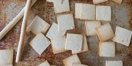 Coconut Flour Crackers and Grissini