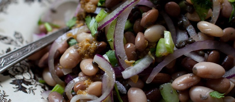 White Bean, Celery & Curry Salad