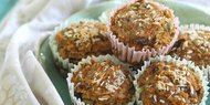 "Carrot Raisin ""Everything"" Muffins"