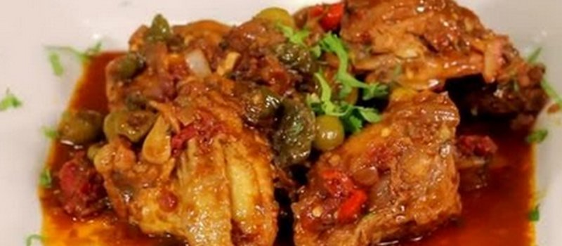 Dominican Stewed Chicken