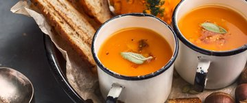 Winter Squash Kelp Soup