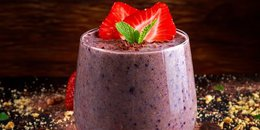 Chocolate Banana Berry Protein Shake