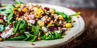 Quinoa Salad with Mixed Veggies
