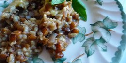 Bean, Lentil and Brown Rice Casserole