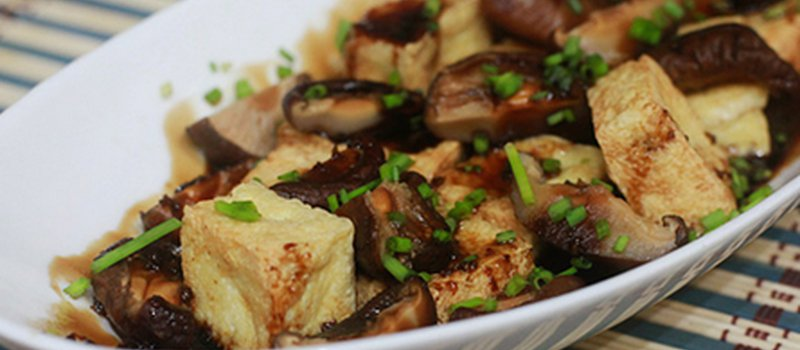 Grilled Tofu, Mushrooms and Vegetable Antipasto