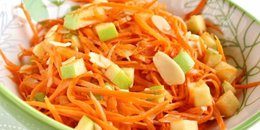 No Cook Carrot Salad