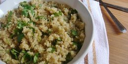 Cleansing Lime Quinoa Dish