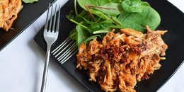 Paleo BBQ Shredded Chicken