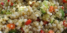 Quinoa and Barley Salad