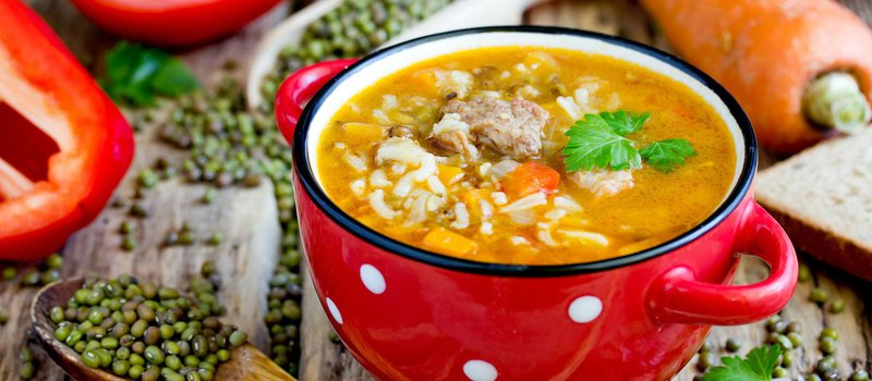 Roasted Mung Bean Soup