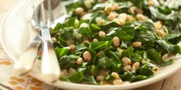 Greens and Beans with Rosemary and Thyme