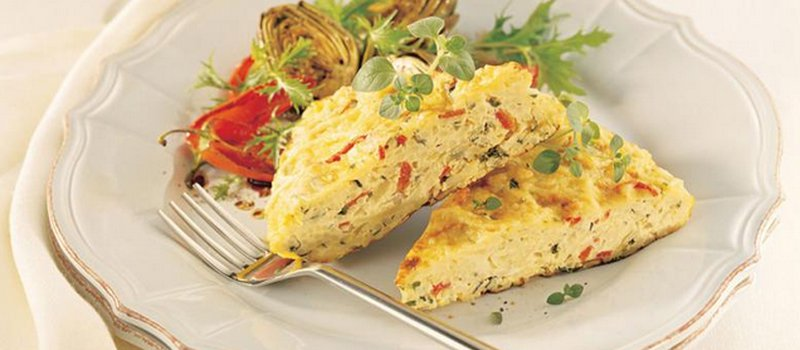 Asian Inspired Vermicelli Frittata