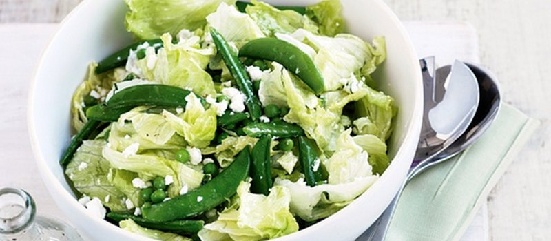 Pea Salad with Mint and Pecorino